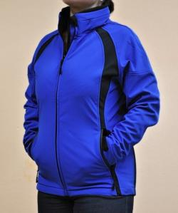 DÁMSKÁ SOFTSHELL BUNDA CH42 - ROYAL
